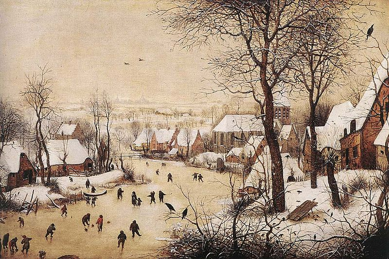 pieter bruegel the elder winter landscape
